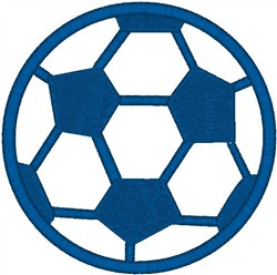 Soccer Ball2 embroidery design
