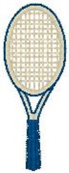 Tennis Racket1 embroidery design