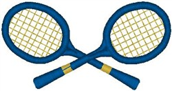 Tennis Rackets7 embroidery design