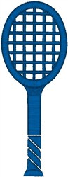 Tennis Racket11 embroidery design