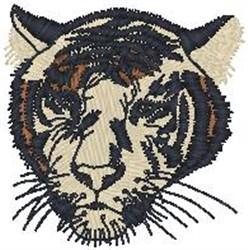 Mountain Lion Head embroidery design