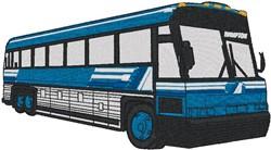 Tour Bus embroidery design