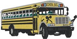 School Bus2 embroidery design