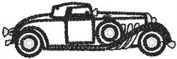 Roadster2 embroidery design