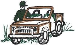 Jeep Guy2 embroidery design