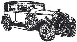 Old Limosine embroidery design