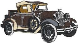 Antique Car21 embroidery design