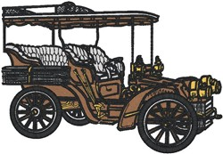 Antique Car23 embroidery design