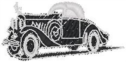 Roadster3 embroidery design