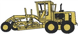 Road Grader embroidery design