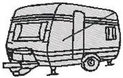 RV Trailer embroidery design