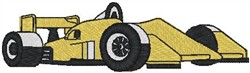 Yellow Indy embroidery design