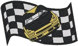 NASCAR Winner embroidery design