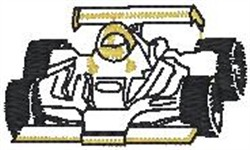 Indy Racer Outling embroidery design