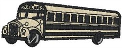 School Bus4 embroidery design