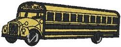 School Bus3 embroidery design
