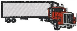 Tractor Trailer3 embroidery design