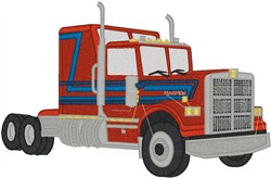 Big Rig4 embroidery design