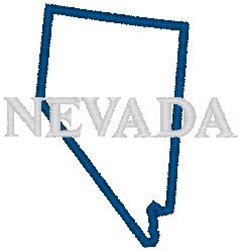 Nevada embroidery design
