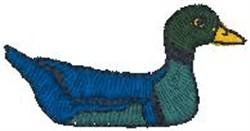 Duck Decoy embroidery design