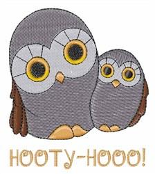 Hooty Hooo embroidery design