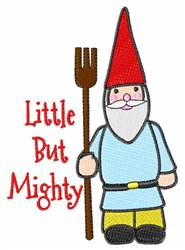 Little Mighty Gnome embroidery design