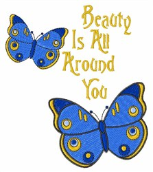 Beauty is all Around embroidery design