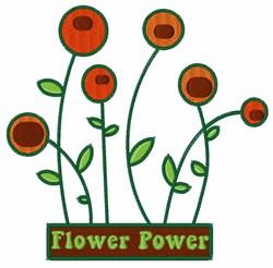 Flower Power Garden embroidery design