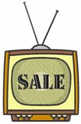 TV Sale embroidery design
