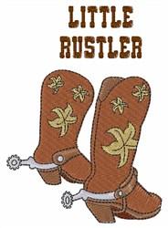 Little Rustler embroidery design