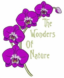 The Wonders of Nature embroidery design