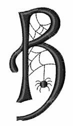 Cobweb B embroidery design