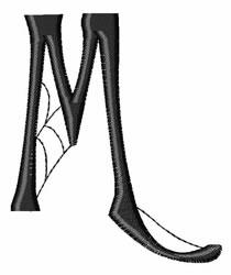 Cobweb M embroidery design