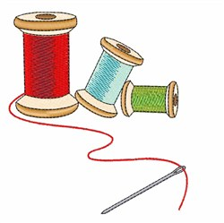 Thread & Needle embroidery design