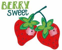 Berry Sweet embroidery design