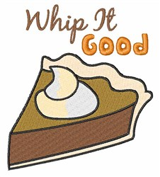 Whip It Good embroidery design