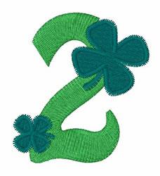 Green Shamrocks 2 embroidery design