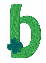 Green Shamrocks b embroidery design