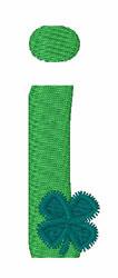 Green Shamrocks i embroidery design