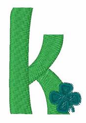 Green Shamrocks k embroidery design