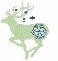 Winter Reindeer embroidery design