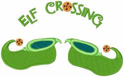 Elf Crossing embroidery design