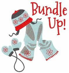 Bundle Up embroidery design