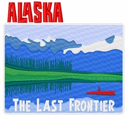 The Last Frontier embroidery design