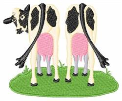 Dairy Cows Milk embroidery design