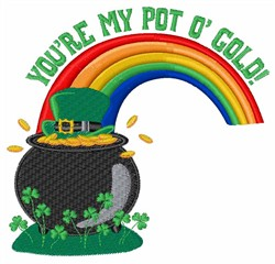 My Pot O Gold embroidery design