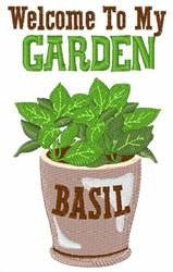 My Garden embroidery design