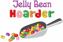 Jelly Bean Hoarder embroidery design