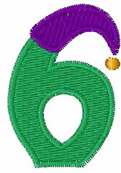Jester Hat 6 embroidery design