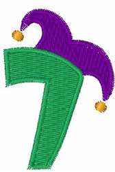 Jester Hat 7 embroidery design